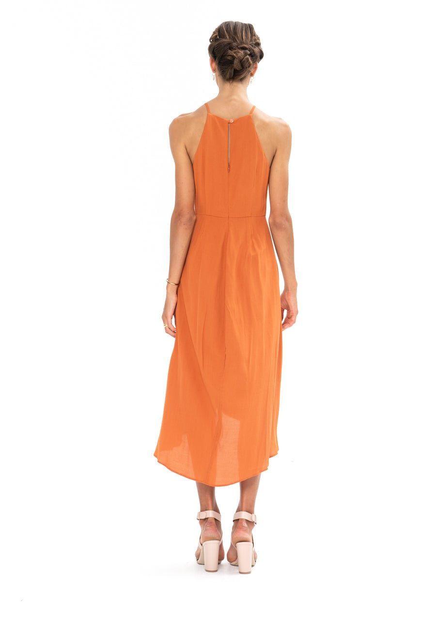 Brunch Dress - Burnt Orange