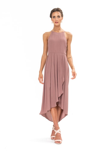 Brunch Dress - Ibiza Brown