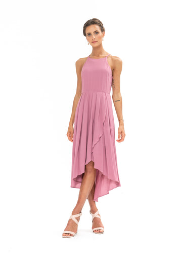 Brunch Dress - Purple Blush