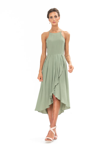Brunch Dress - Sage Craft Green