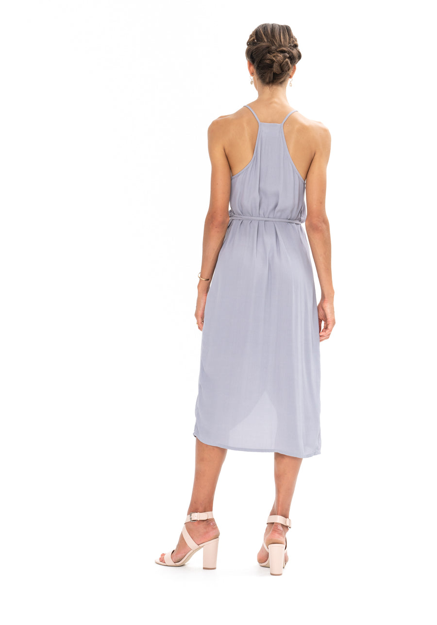 Friday Wrap Dress - Appaloosa Grey