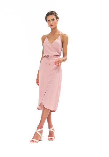 Friday Wrap Dress - Calico Rose