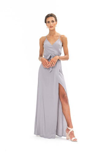 Signature Wrap Dress - Appaloosa Grey