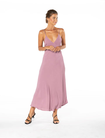 Jessica Dress - Purple Blush