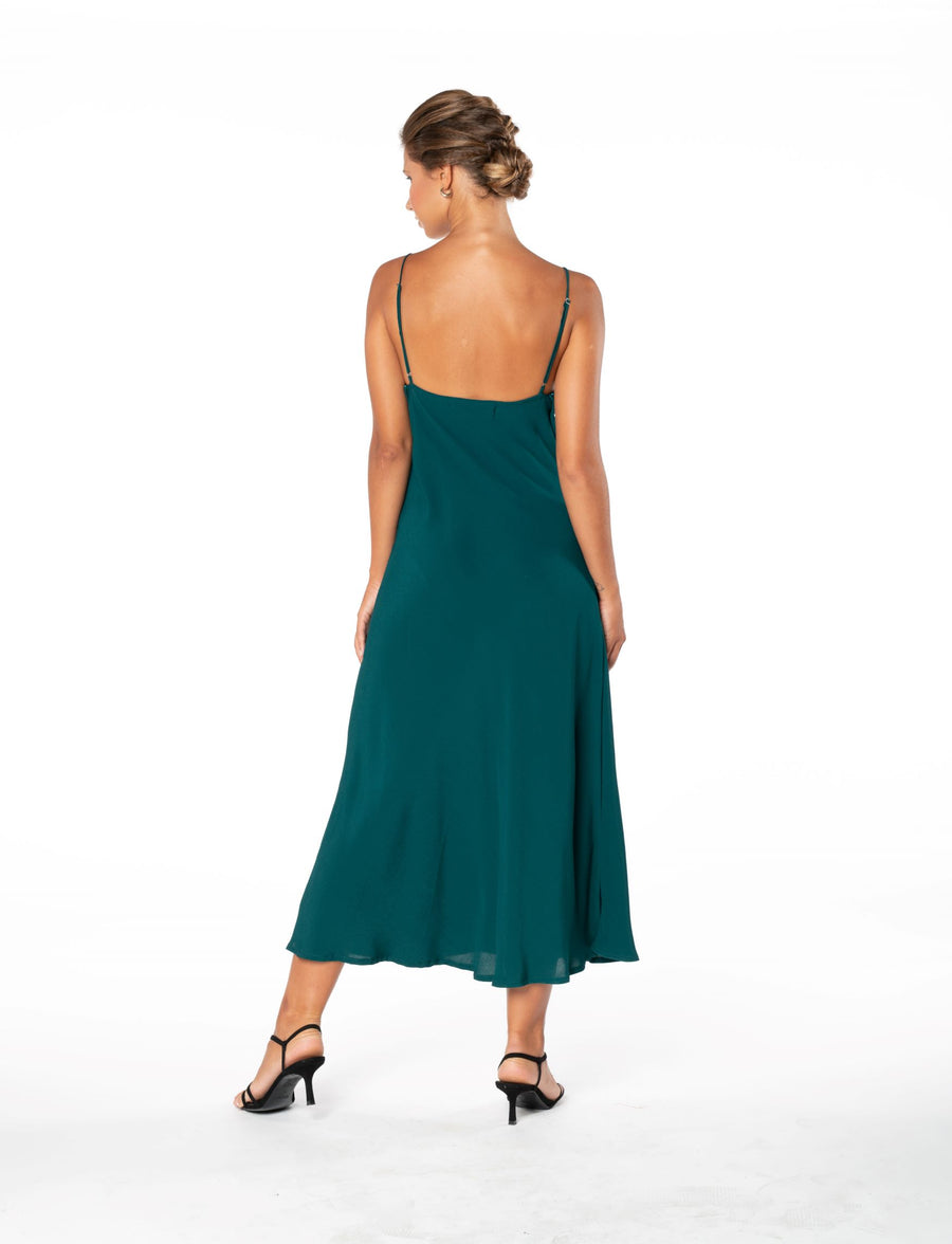 Jessica Dress - Emerald Green