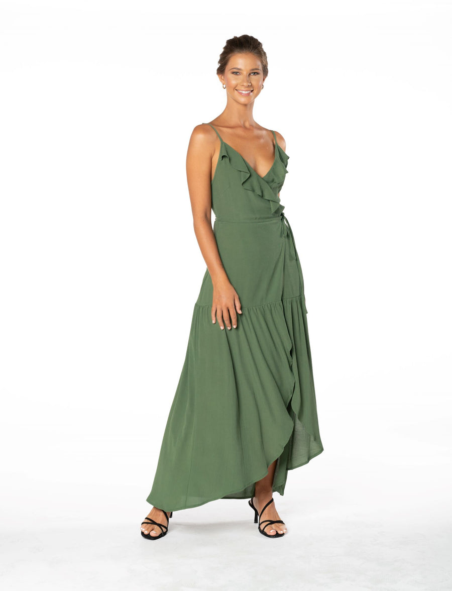 Ever Lasting Dress - Olive Green