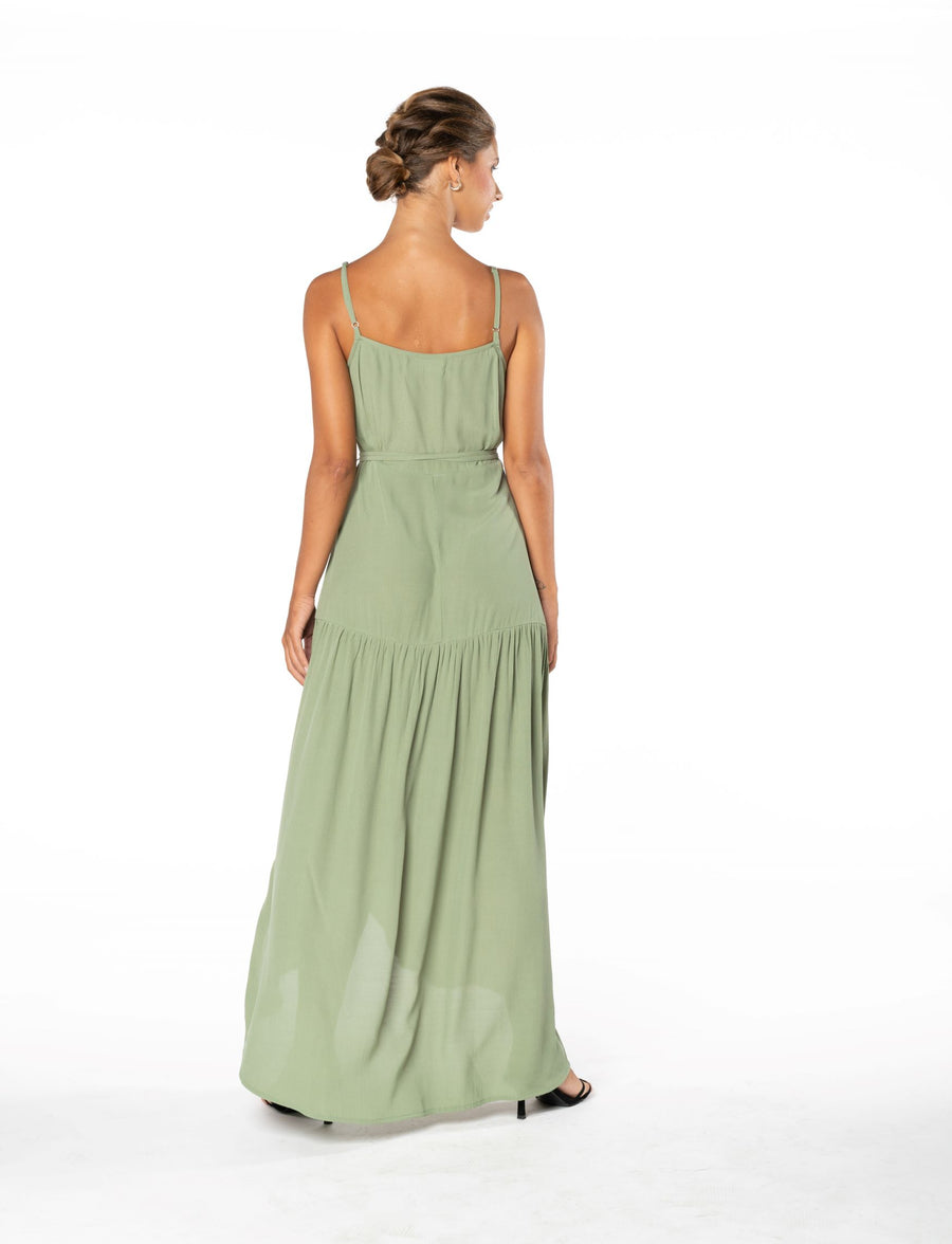 Ever Lasting Dress - Sage Craft Green