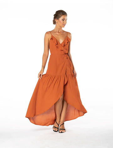 Ever Lasting Dress - Burnt Orange