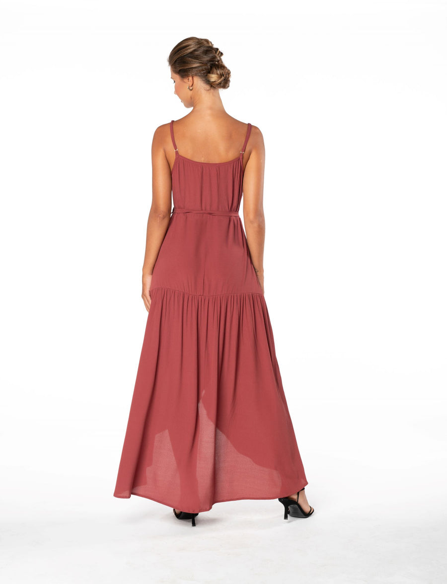 Ever Lasting Dress - Dusky Plum