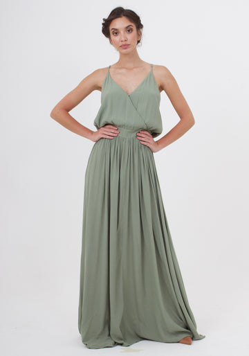 Feels Dress - Sage Craft Green