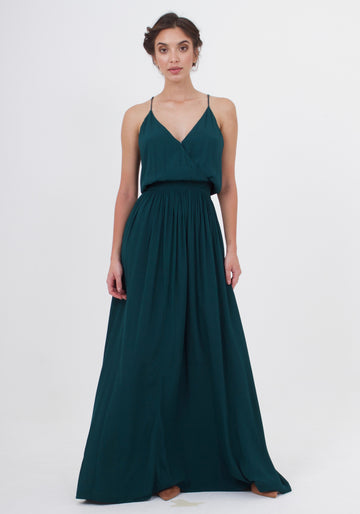Feels Dress - Emerald Green