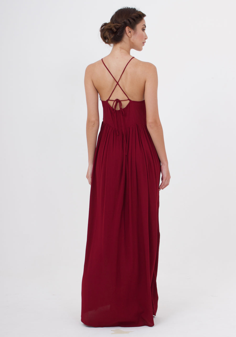 Maxi Dress - Dark Rust