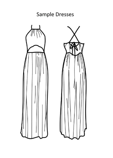 Maxi Dress - Sample Dress