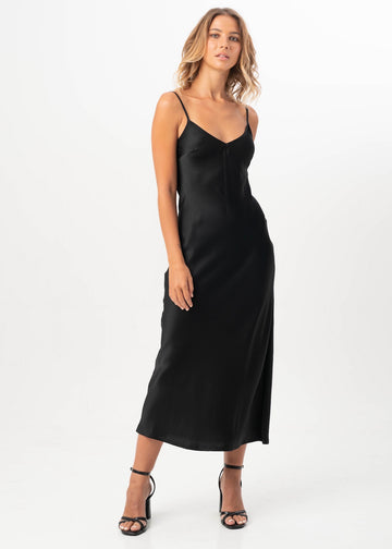Mikaela Slip Dress  - Available in 27 Colours & 2 Fabric Options