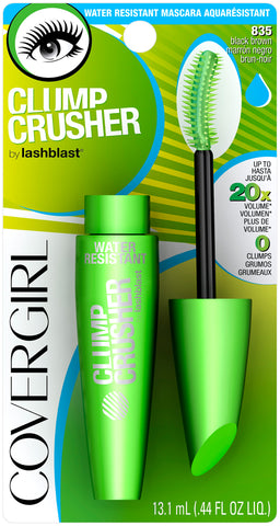 CoverGirl Clump Crusher Water Resistant Mascara by LashBlast   .44oz