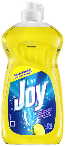 Joy Ultra Dishwashing Liquid Lemon Scent 12.6oz
