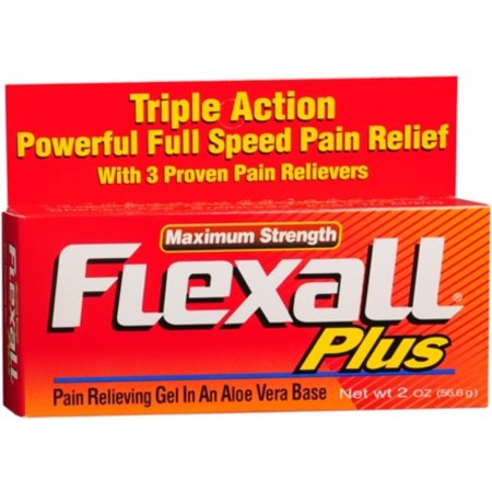Flexall Plus Maximum Strength Pain Relieving Gel   2oz
