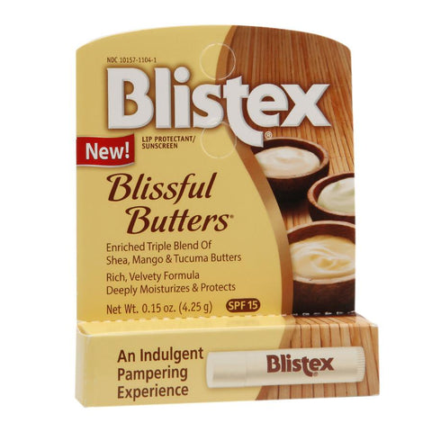 Blistex Blissful Butters Lip Balm SPF-15  .15oz