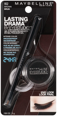 Maybelline New York Eye Studio Lasting Drama Gel Eyeliner   .11oz