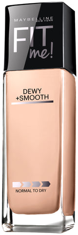 Maybelline New York Fit me! Dewy + Smooth Foundation with Spf 18 1oz