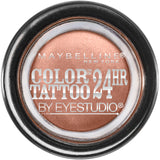 Maybelline New York Eye Studio Color Tattoo 24HR Cream Gel Eye Shadow  .15oz