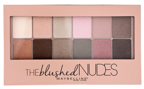 Maybelline New York The Blushed Nudes Eyeshadow Palette .34oz