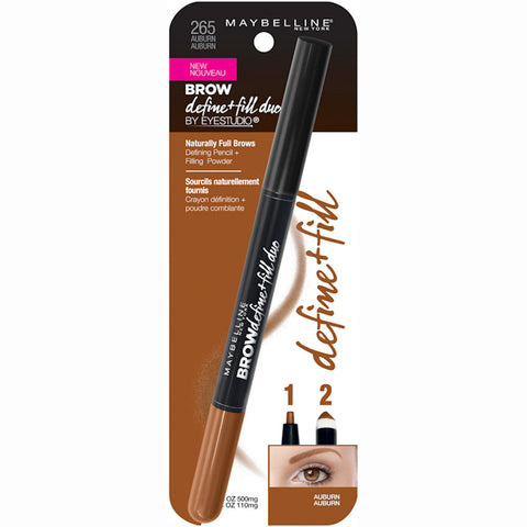 Maybelline New York Eye Studio Brow Define and Fill Duo .02oz