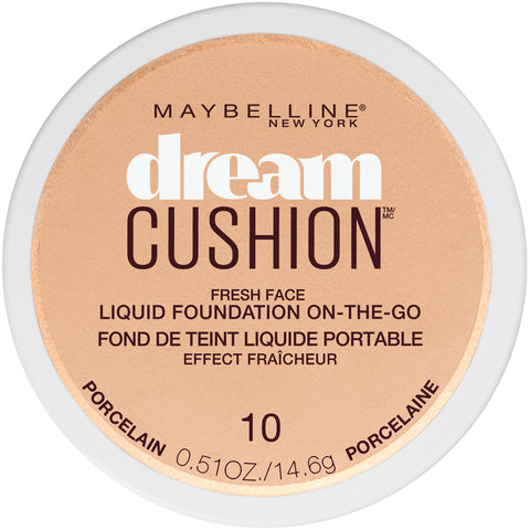 Maybelline New York Dream Cushion Liquid Foundation Compact .51oz
