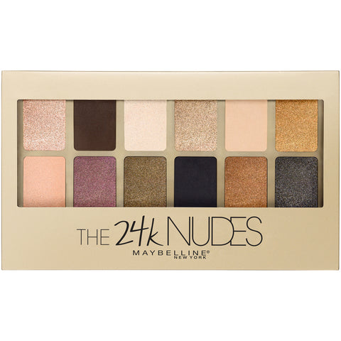Maybelline New York The 24K Nudes Eyeshadow Palette .34oz