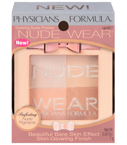 Physicians Formula Nude Wear Glowing Nude Powder .24oz