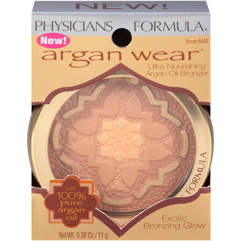 Physicians Formula Argan Wear Ultra-Nourishing Argan Oil Bronzer  .38oz
