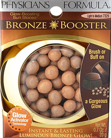 Physicians Formula Bronze Booster Glow-Boosting Sun Stones Light to Medium (7329) .7oz