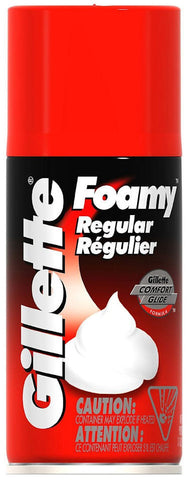 Gillette Foamy Shave Cream Regular  11oz