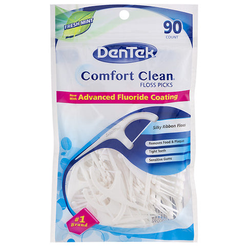Dentek Comfort Clean Floss Picks Fresh Mint