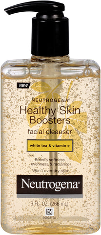 Neutrogena Healthy Skin Boosters White Tea & Vitamin E Facial Cleanser 9oz