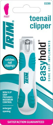 Trim Nail Care Easy Hold Toenail Clipper
