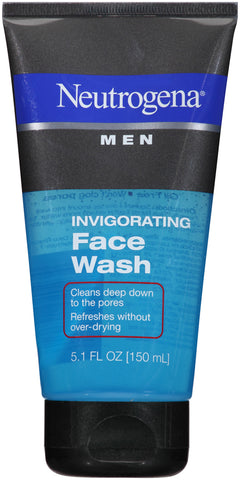 Neutrogena Men Invigorating Face Wash    5.1oz