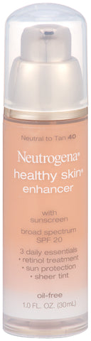 Neutrogena Healthy Skin Enhancer with Spf 20  1oz