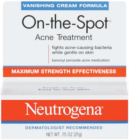 Neutrogena On The Spot Acne Treatment Vanishing Formula    .75oz