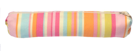 ElizabethW Rosetta Stripe Brush & Pencil Bag