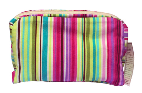 ElizabethW Viviana Stripe Toiletry Bag