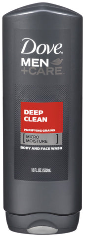 Dove Men +Care Deep Clean Body & Face Wash