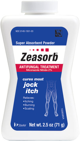 Zeasorb Antifungal Treatment Powder for Jock Itch   2.5oz