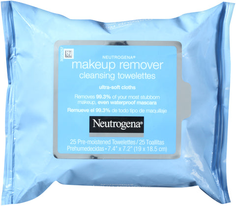 Neutrogena Makeup Remover Cleansing Towelettes Refill   25 Count
