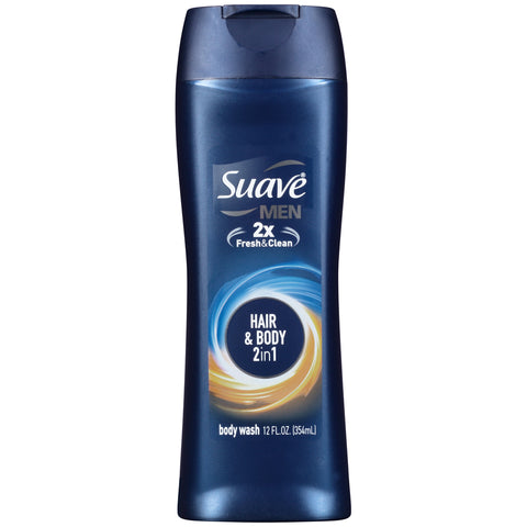Suave Men Hair & Body 2-in-1  12oz