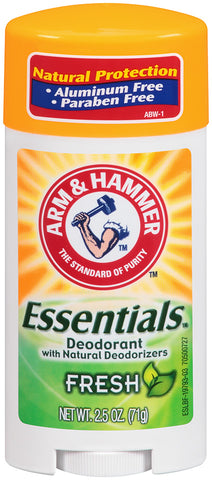 Arm & Hammer Essentials Deodorant Fresh    2.5oz