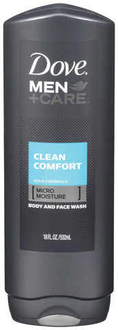 Dove Men +Care Clean Comfort Body & Face Wash