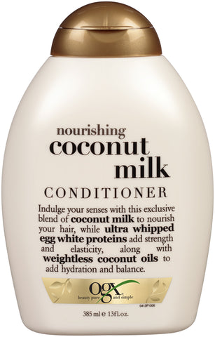Ogx Nourishing Coconut Milk Conditioner   13oz