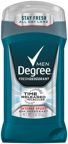 Degree Men Fresh Protection Deodorant Stick Intense Sport    3oz