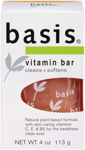 Basis Vitamin Bar Soap   4oz